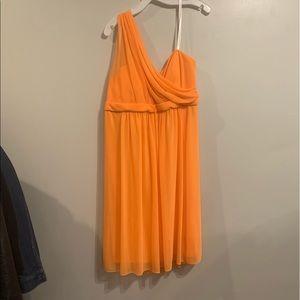 Grecian style dress.